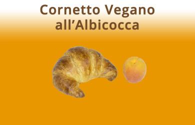 Cornetto Vegano all'Albicocca